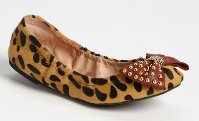 Betsey Johnson Miiliee Leopard Flat Wild-Socity