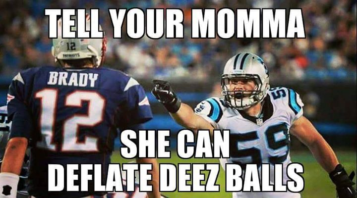 #patriotshaters #brady #nfl #nflmeme.- tell your momma she can deflate deez balls