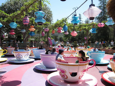 Mad Hatter's Tea Party at Disneyland