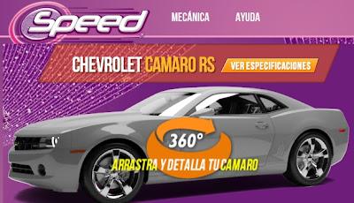 Camarospeed on Speedgaseosa Com Speed Gaseosa Te Regala Un Chevrolet Camaro Rs Busca