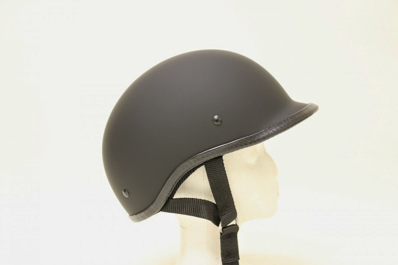 Polo Flat Matte Novelty Motorcycle Helmet