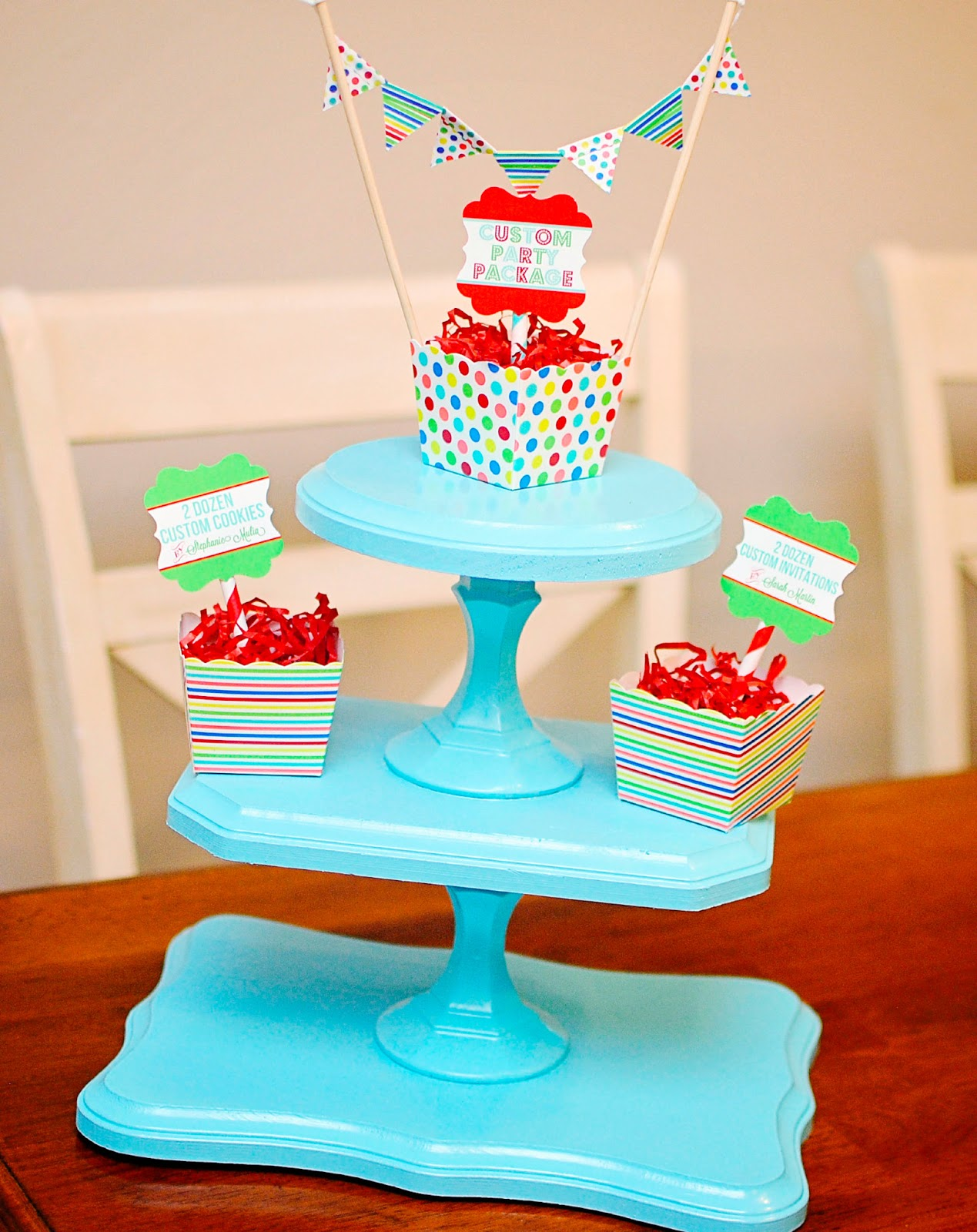 how to make cupcake stand at home