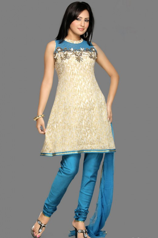 Dress Designs Salwar Kameez 2011 Blue-salwar-kameez-designs