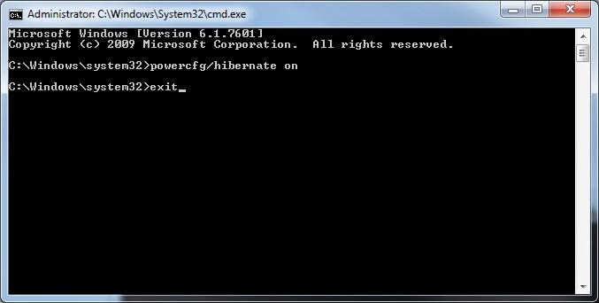 Windows 7 - Sair