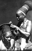 model gaya rambut orang afrika kuno