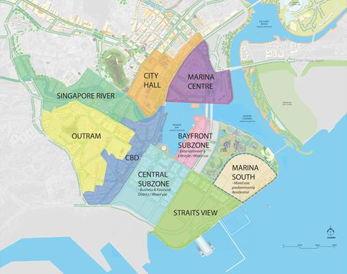 Singapore CBD Master Plan