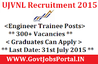 UJVNL Rcruitment 2015