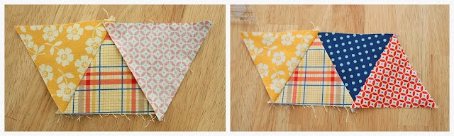 quilting triangles sewing