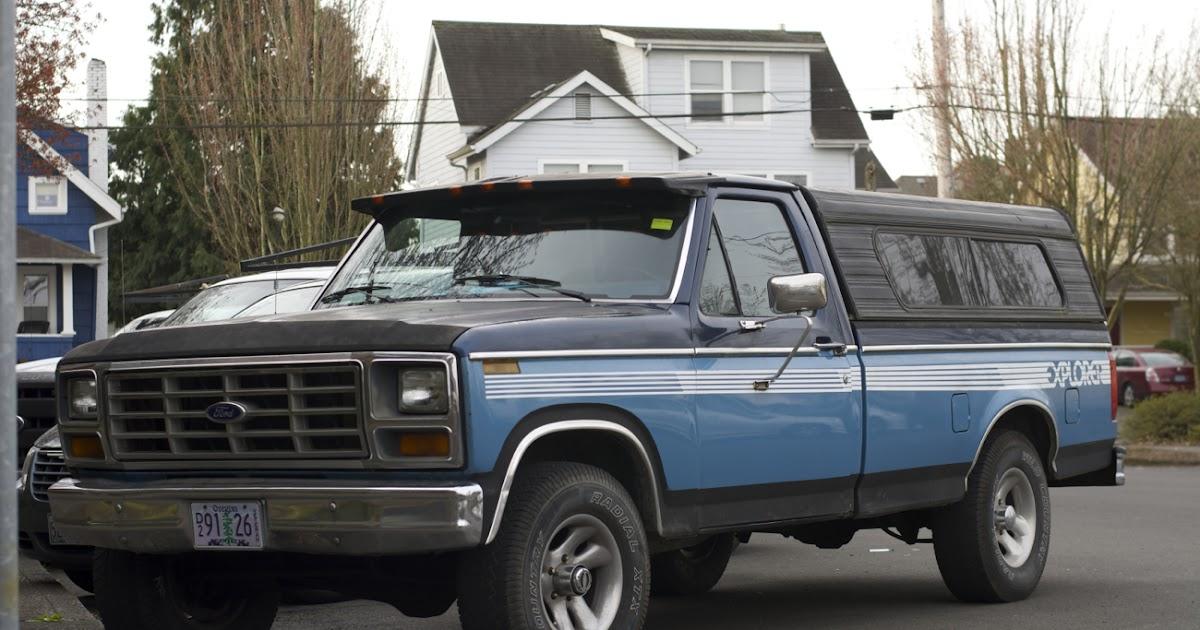 old parked cars 1983 ford f 150 explorer. Black Bedroom Furniture Sets. Home Design Ideas