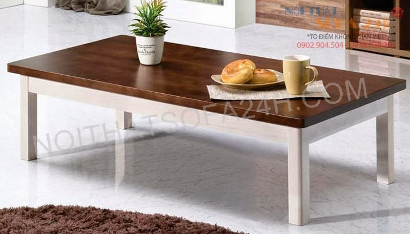 Bàn sofa gỗ BS084