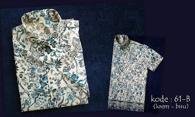Baju Batik Pria 61B