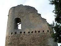 Façana nord del Castell de la Tossa