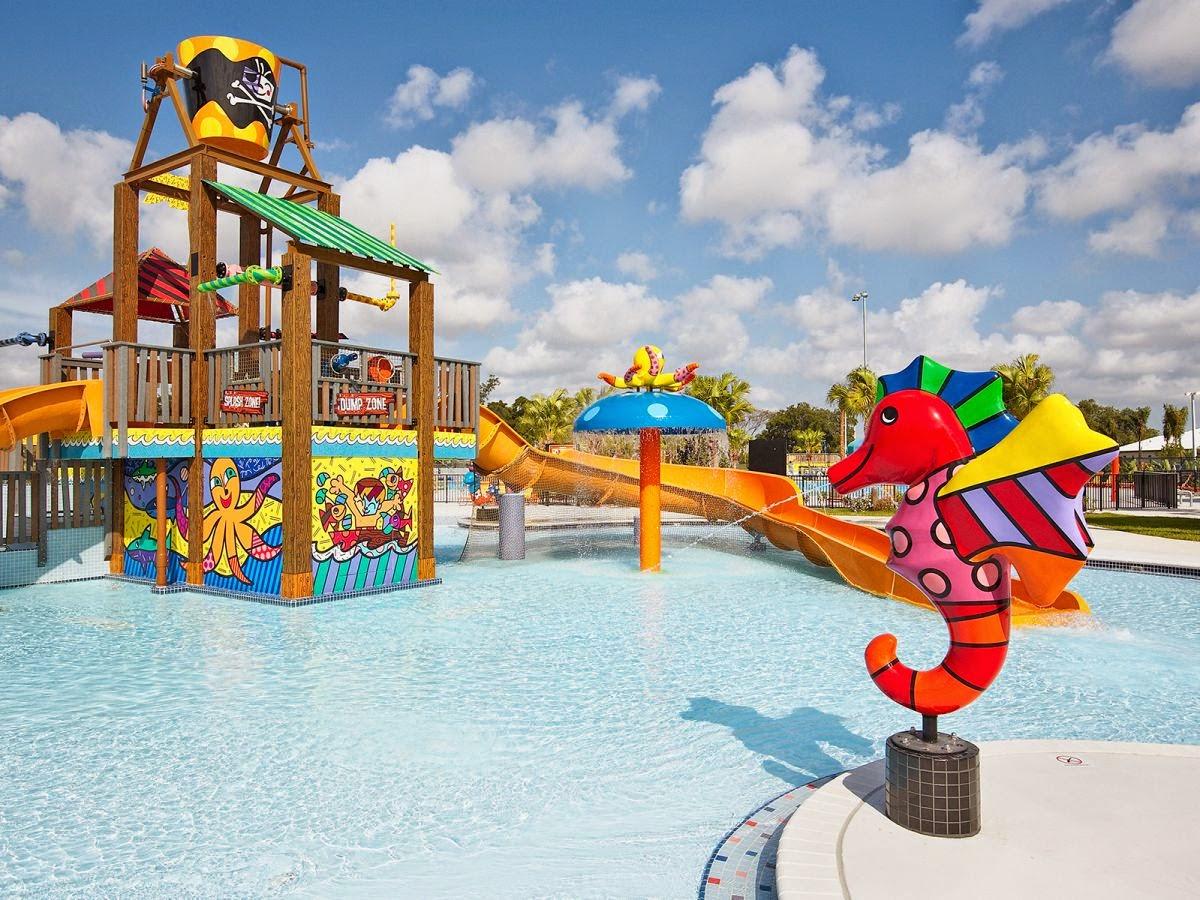 Divertirse con ni os en miami grapeland water park for Lugares con piscina para pasar el dia