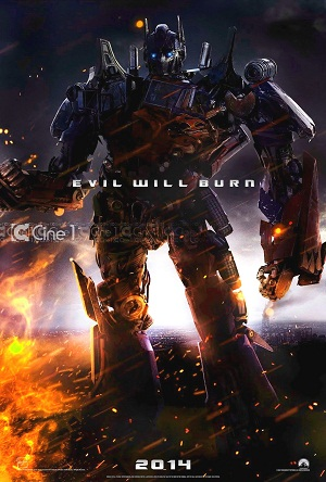 Transformers 4 2014 official movie poster