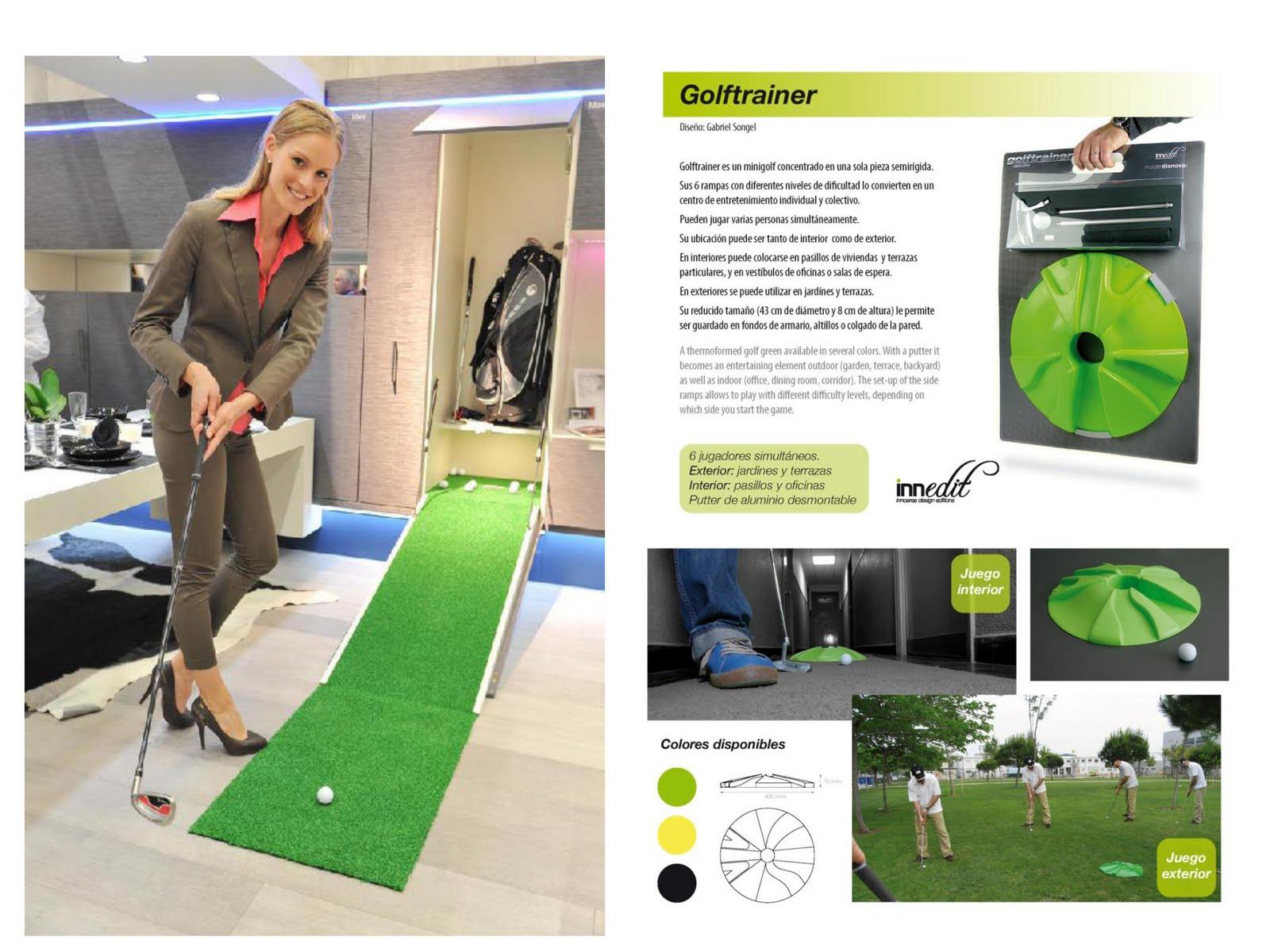 Gabriel songel minigolf entre tendencias minigolf among for Juego de golf para oficina