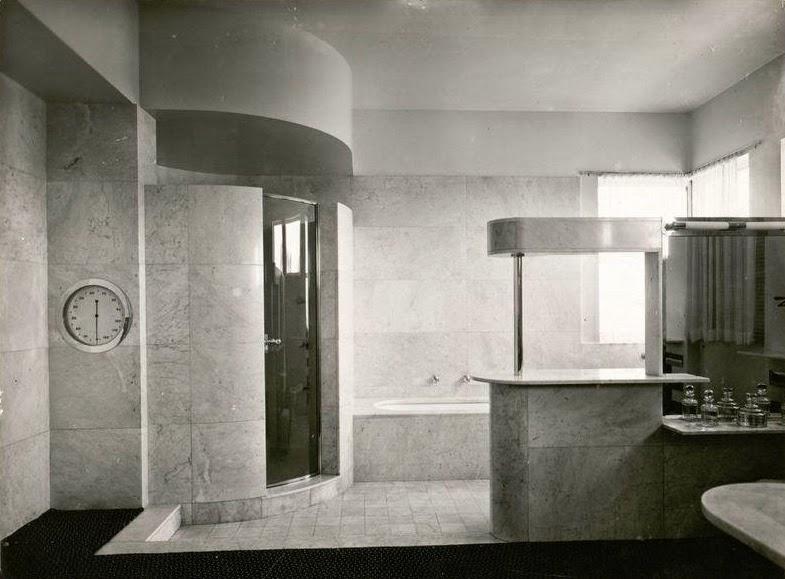 Cabine De Douche Moderne Exemples : Le des amis de la villa cavrois les salles bains