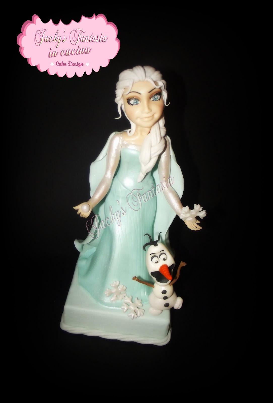 La mia Elsa in pasta di zucchero!