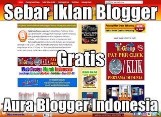 Sebar Iklan Blogger