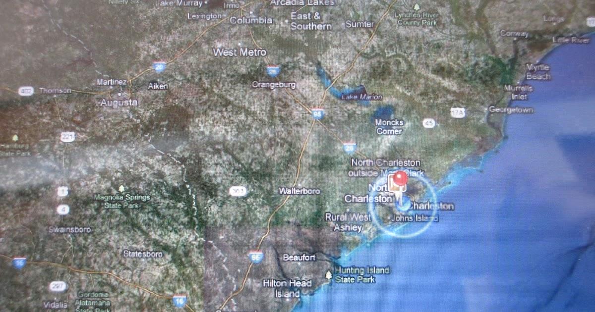 Beaufort to Charleston