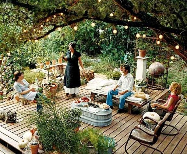 backyard landscaping: Simple Backyard Garden Ideas Graph