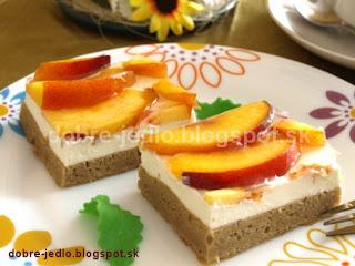 Svieži ovocný zákusok - recepty