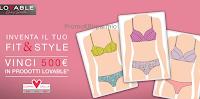 Logo Concorso Lovable: partecipa e vinci buono spesa da euro 500