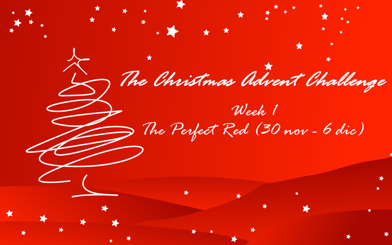 The Christmas Advent Challenge - The Perfect Red