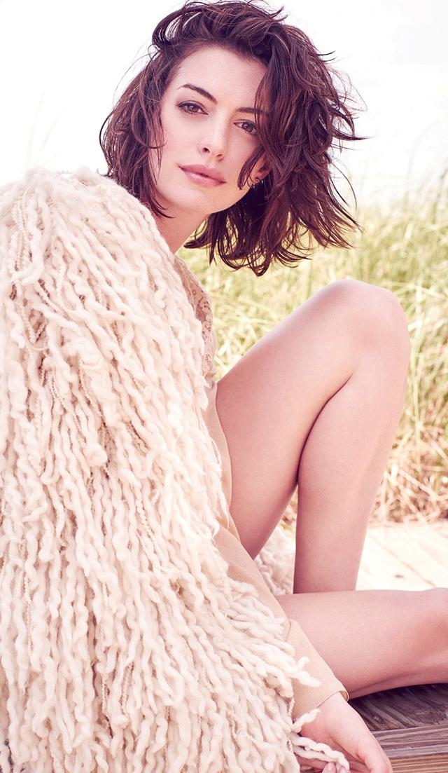 Anne Hathaway en Glamour magazine