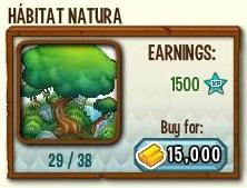 habitat para lo dragones de elemento natura