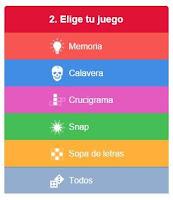 tabla de los ejercicios de inglés nuevos de LinguaSuite
