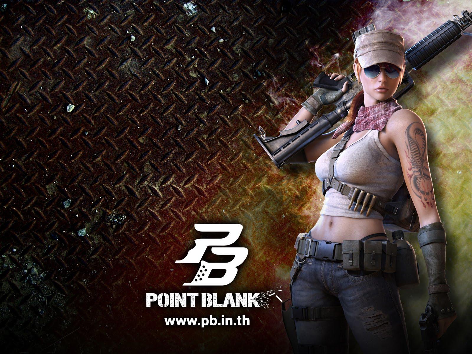 PB Point Blank Wallpaper Creative Poster HD Zeromin0