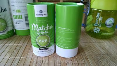 Bünting Matcha Gründer Tee pur