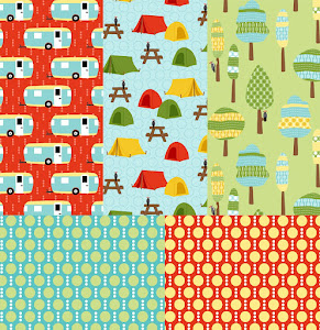 ROUGHING IT FOR ROBERT KAUFMAN FABRICS | DECEMBER 2012