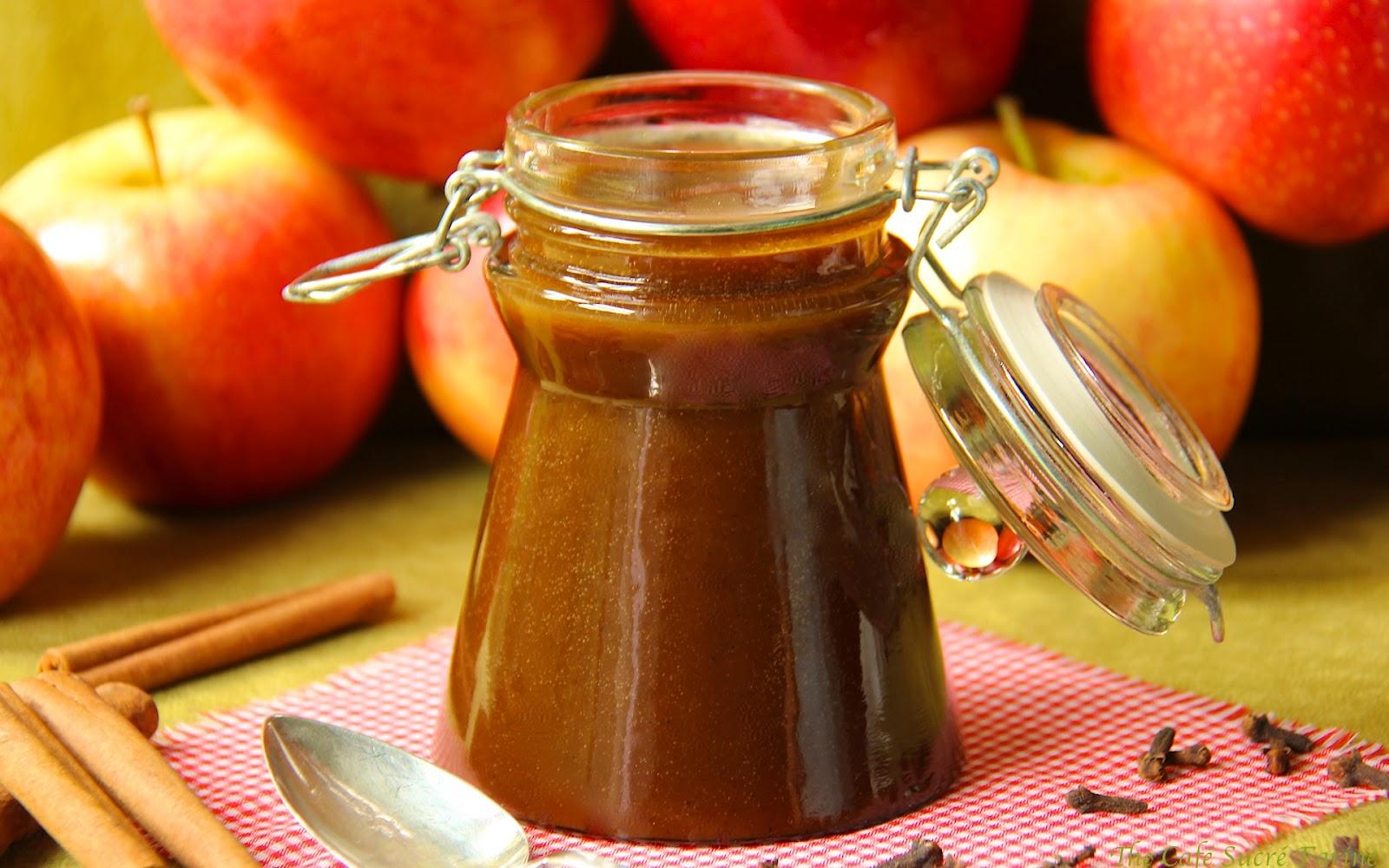 Autumn-Spiced Apple Cider Caramel Sauce - The Ridiculously Easy Way ...