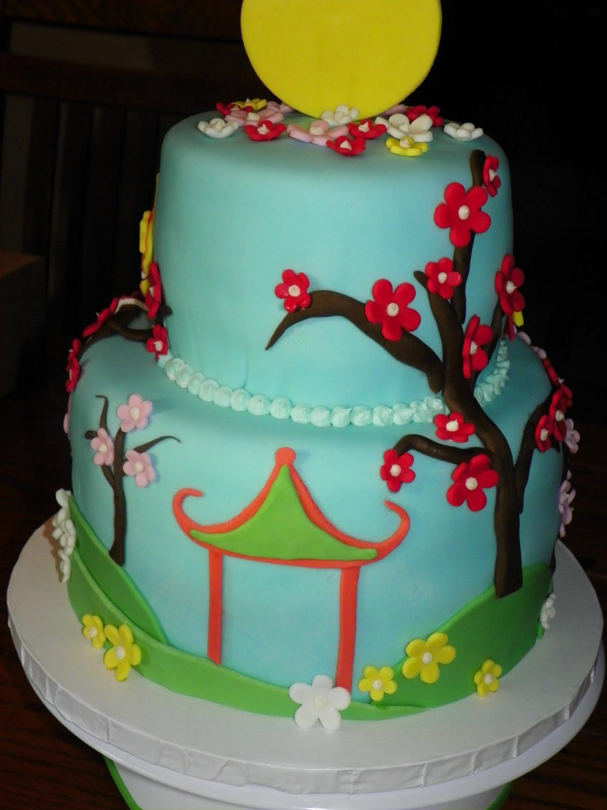 Plumeria Cake Studio Ni Hao Kai Lan Birthday Cake 3 Allanah