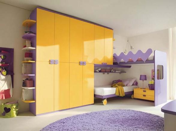 Dormitorios minimalistas para ni os habitaciones for Closet pequenos para ninos