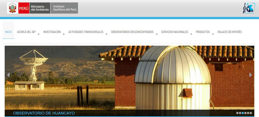Instituto Geofísico del Perú - IGP