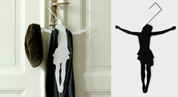 interesting wall cloth hanger. Cool Clothes Hangers and Modern Hanger Designs  15 7 Part 2