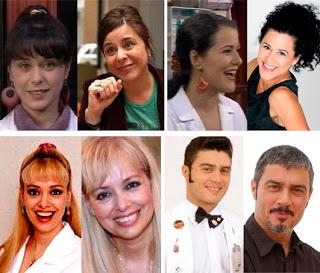 Maruchi León (Pili), África Gozalbes (Reyes), Emma Ozores (Sandra), Ángel Pardo (Chencho)