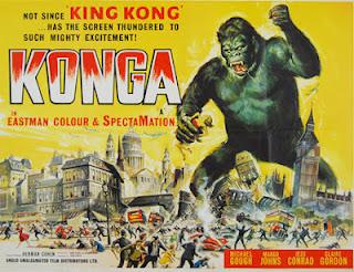 Konga (1961) - Poster