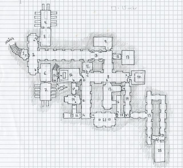 En typisk krypta i Aénglum