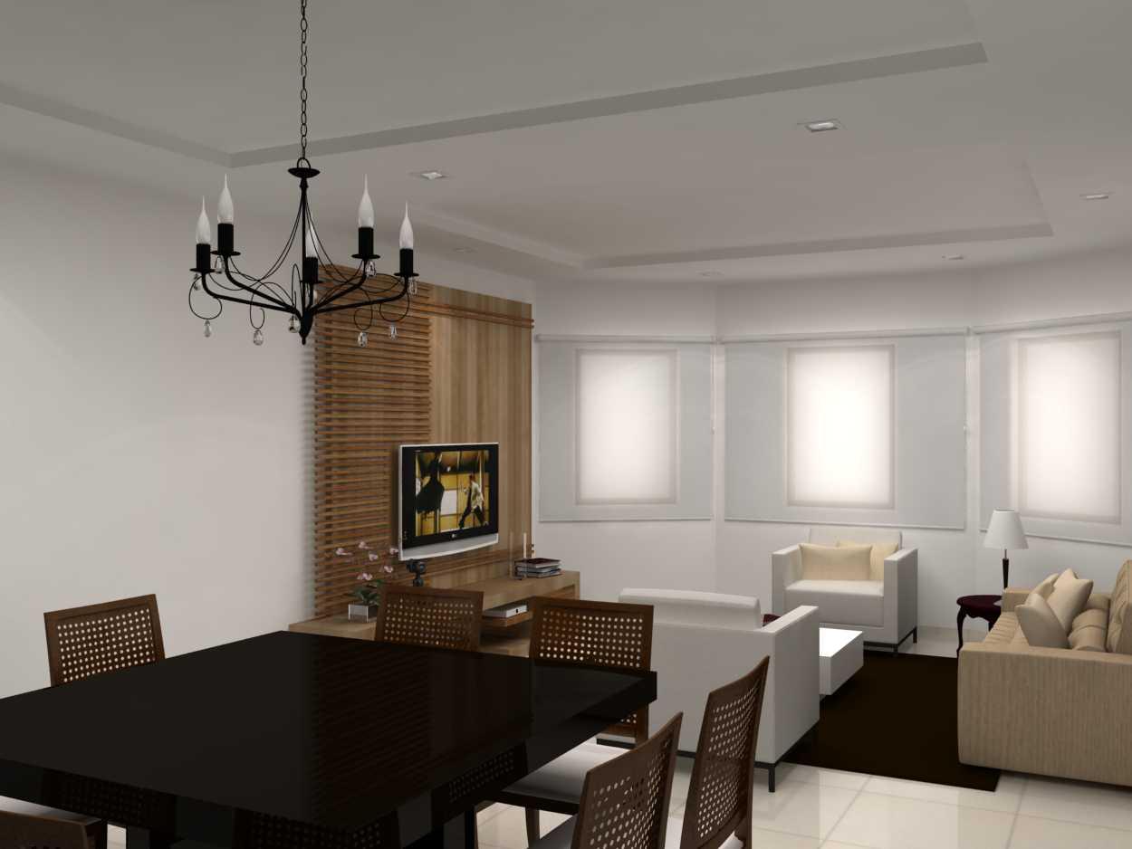 MAQUETE ELETRÔNICA: Projeto Sala Cozinha e Banheiro Decoradora  #211911 1250 938