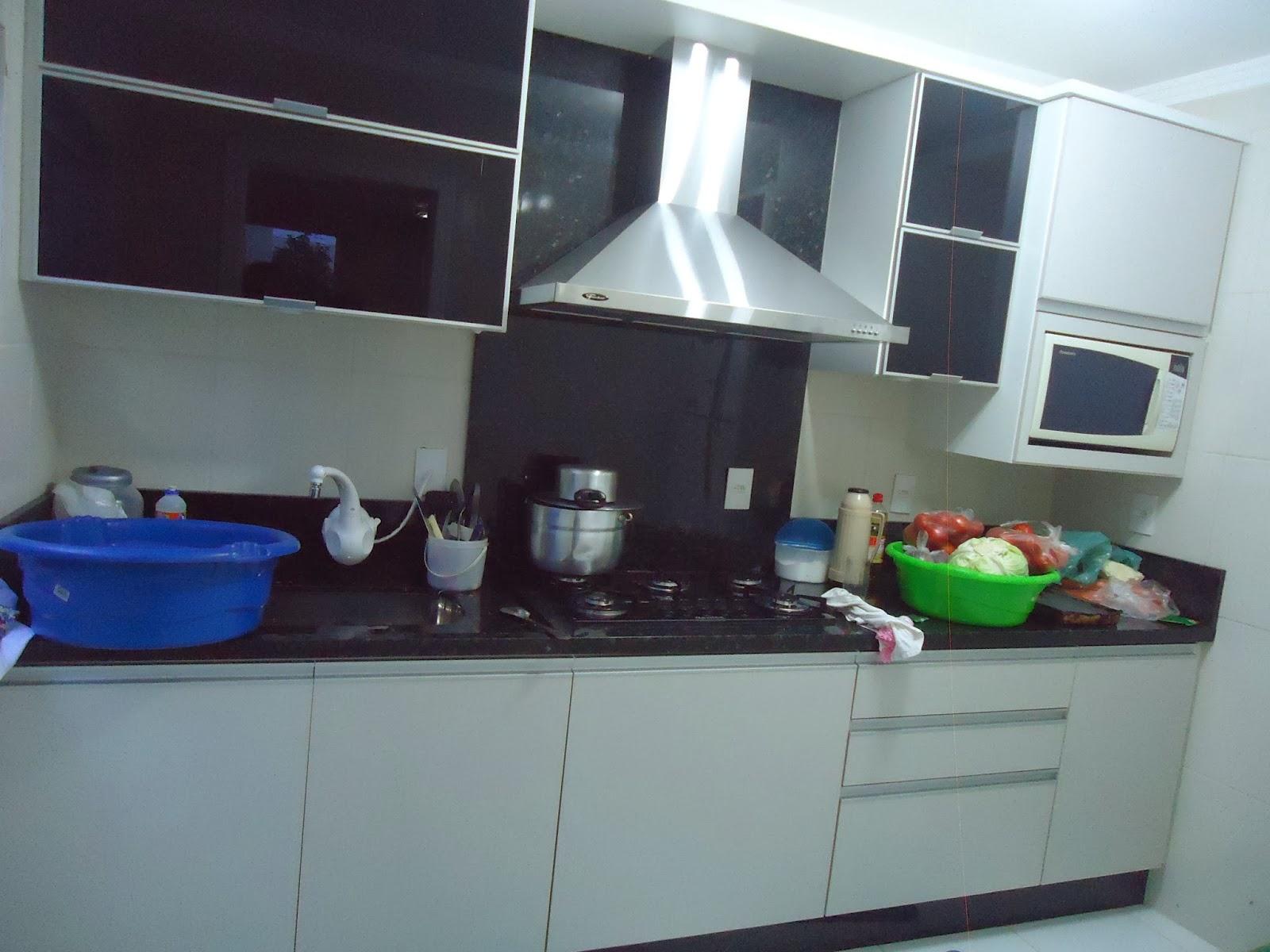 Cozinha Projeto e execução Arquiteta Naiara Loch #283F6F 1600 1200