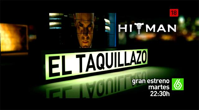 Imagen de la Promo Hitman Cine La Sexta El Taquillazo Febrero 2011