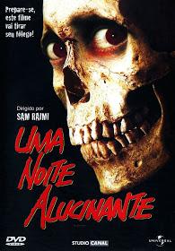 Filme Uma Noite Alucinante A Morte Do Demônio Dublado AVI DVDRip