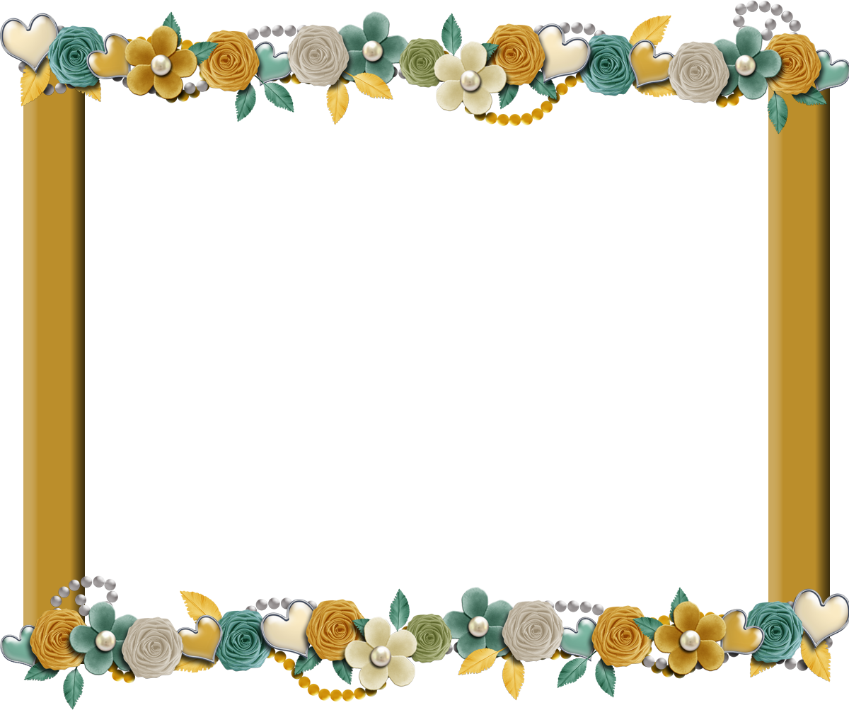 .Com Free Elements: Free Sunny Teal Digi Scrapbook Frame From Kit 43