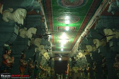 Inside  Kanyakumari Temple