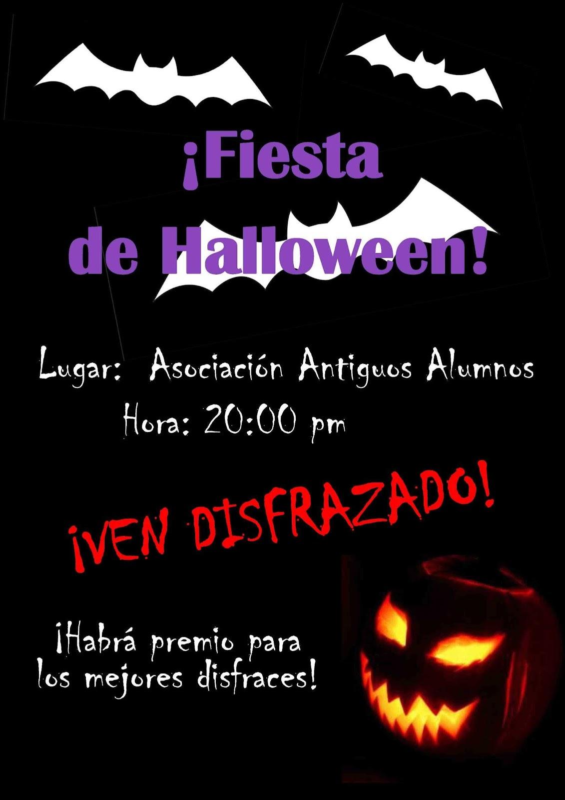 Halloween el 31 de octubre asociaci n antiguos alumnos de don bosco de sevilla trinidad - La casa de los disfraces sevilla montesierra ...