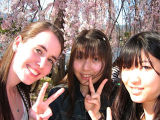 Kiah, Yui, Akane and cherry blossom time
