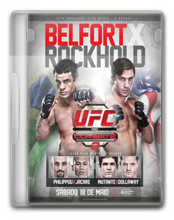 UFC no Combate 2: Belfort vs. Rockhold   HDTV